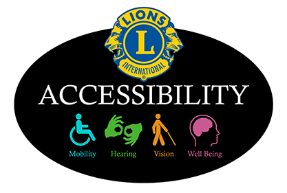 The Lions A16 Accessiblity Awareness Committee Logo
